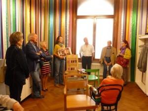 Die Karl Bröger Gesellschaft besucht die Kunstvilla